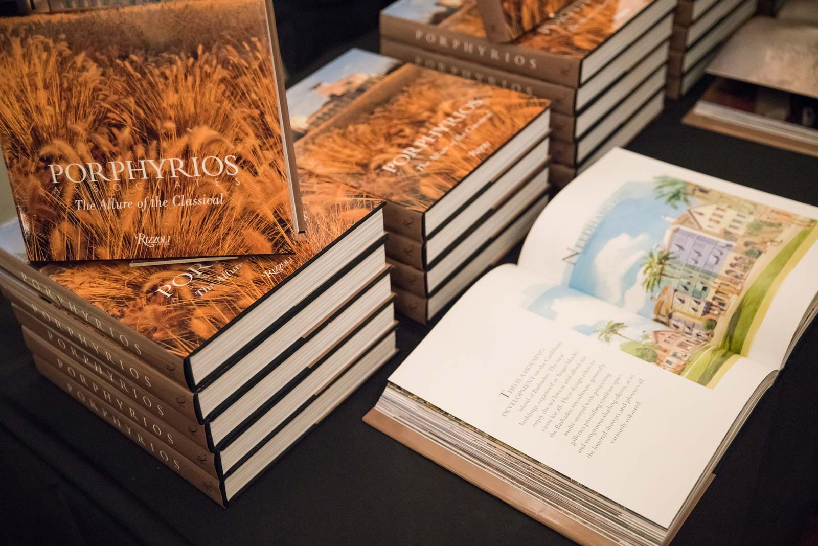 Porphyrios associates book launch at carlton house for The terrace house book
